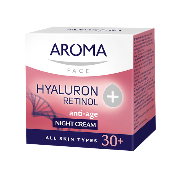 Night face cream Retinol+Hyaluron Aroma