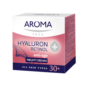 Night face cream Retinol+Hyaluron Aroma