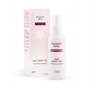Softening dry body oil Diamond Rose Biofresh