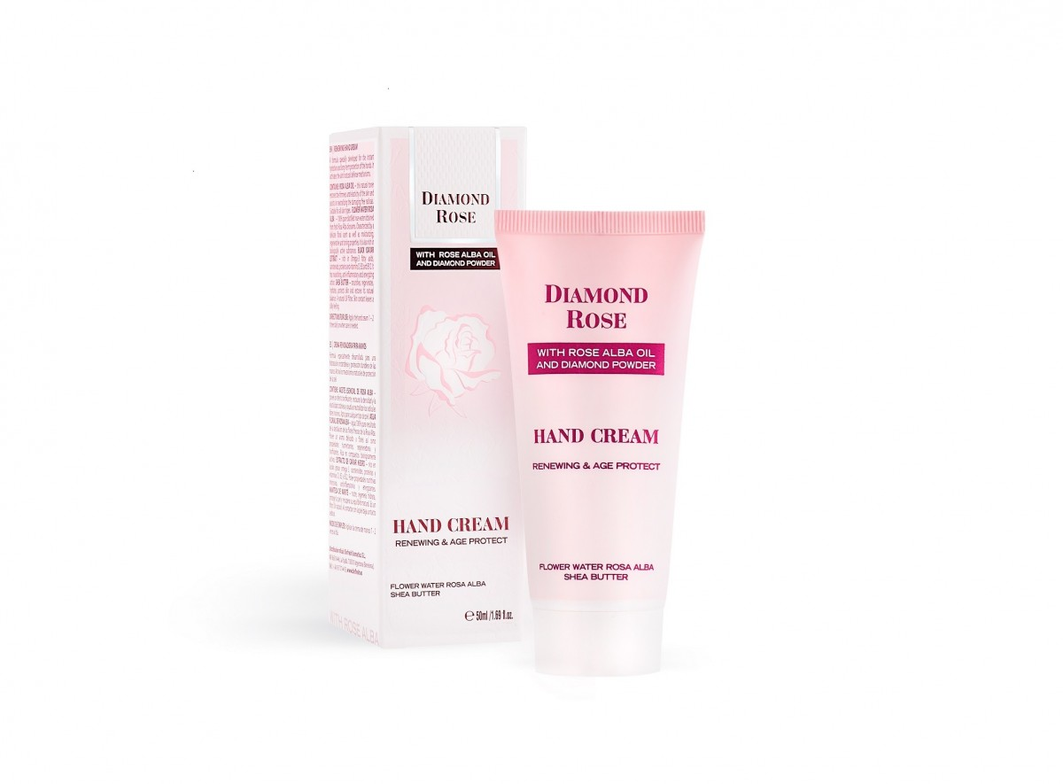Renewing hand cream Diamond Rose Biofresh