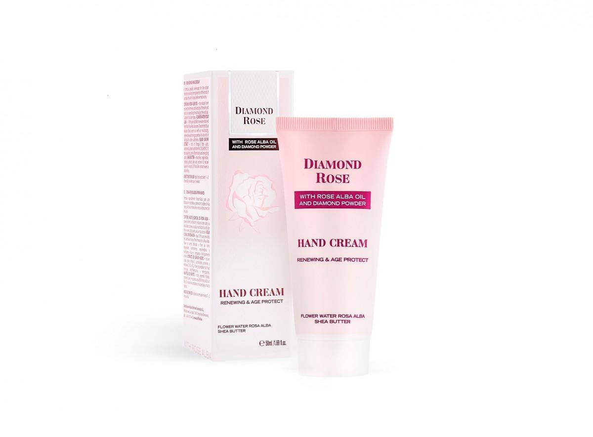 Renewing Hand Cream Diamond Rose Biofresh Cosmetics Bulgaria