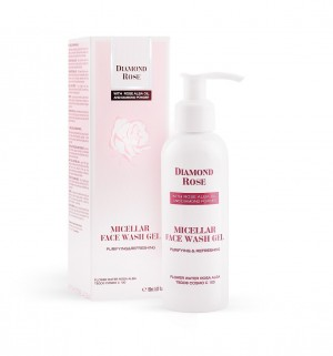 Micellar face wash gel Diamond Rose Biofresh