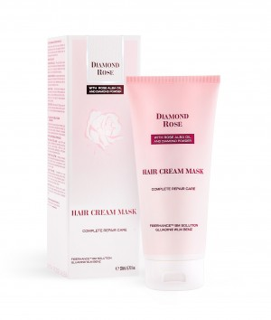 "Hair cream mask  ""Complete Repair Care"" Diamond Rose Biofresh"