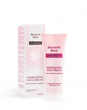 Exfoliating face cream Diamond Rose Biofresh