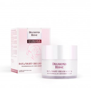 Day & night cream serum for dry skin Diamond Rose Biofresh