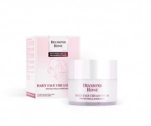 Day face cream with SPF 20 Diamond Rose Biofresh