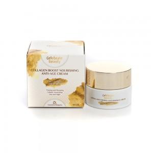 Collagen boost nourishing anti-age cream Celebrate Beauty Cosmetics Bulgaria