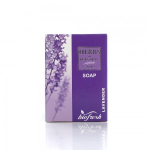 Men's body soap with lavender extract Herbs of Bulgaria Biofresh