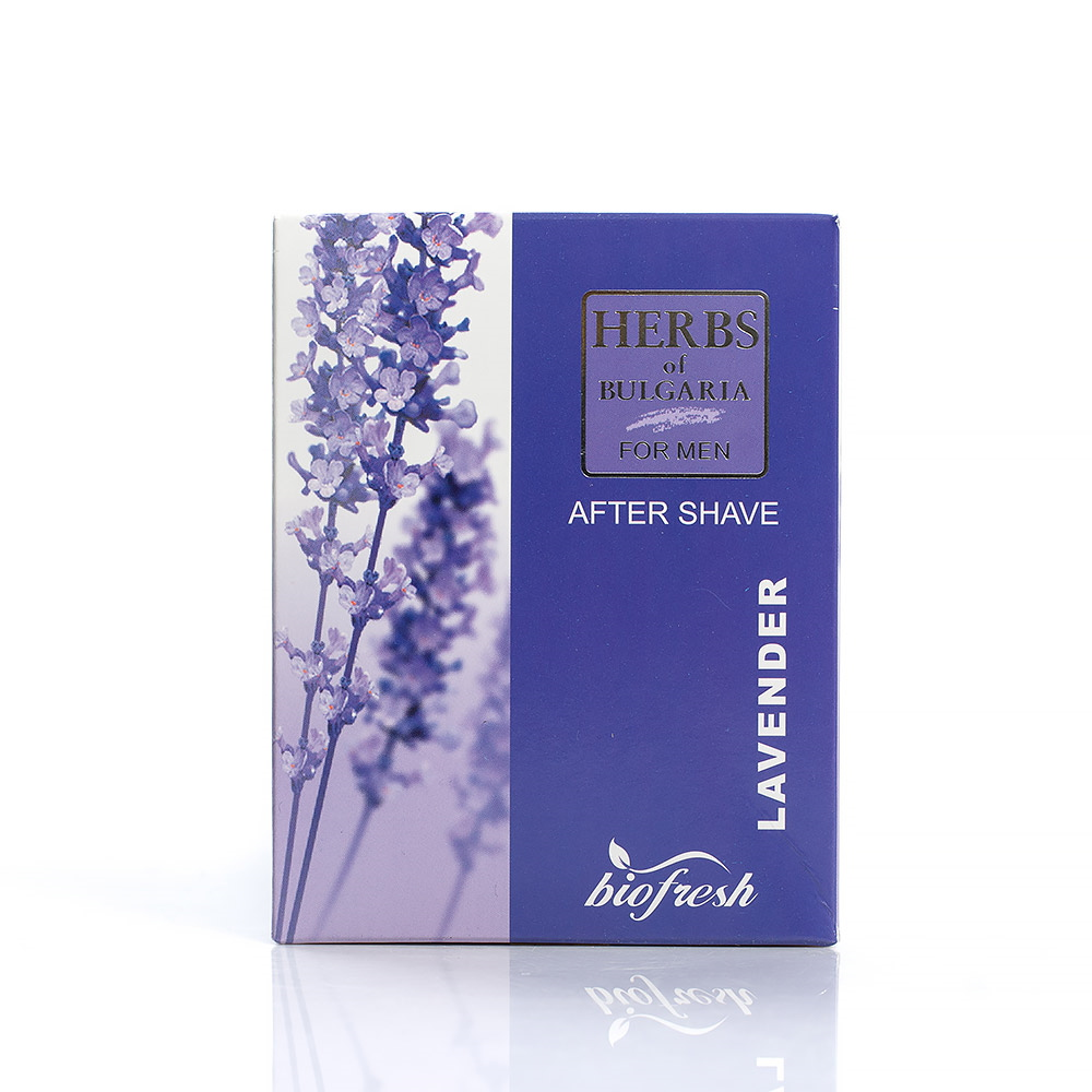 Aftershave with lavender extract Herbs of Bulgaria Biofresh