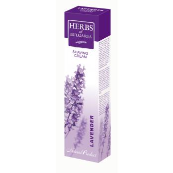 Shaving cream with lavender extract Herbs of Bulgaria Biofresh