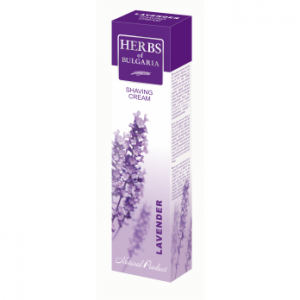 Shaving cream with lavender extract Herbs of Bulgaria Biofresh