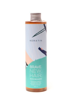 Keratin Shampoo for dry and unruly hair Brave New Hair