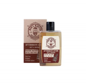Soothing and Refreshing After-shave Lotion Men's Master Professional