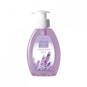Liquid soap for hands with lavender Herbs of Bulgaria Biofresh