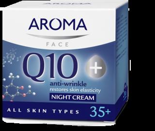 Night cream Aroma Q10+