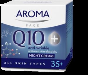 Нощен крем Aroma Q10+