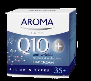 Дневен крем Aroma Q10+