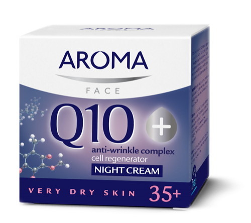 Night Cream for very dry skin Aroma Q10+