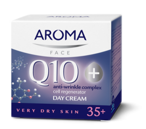 Day cream for very dry skin Aroma Q10+