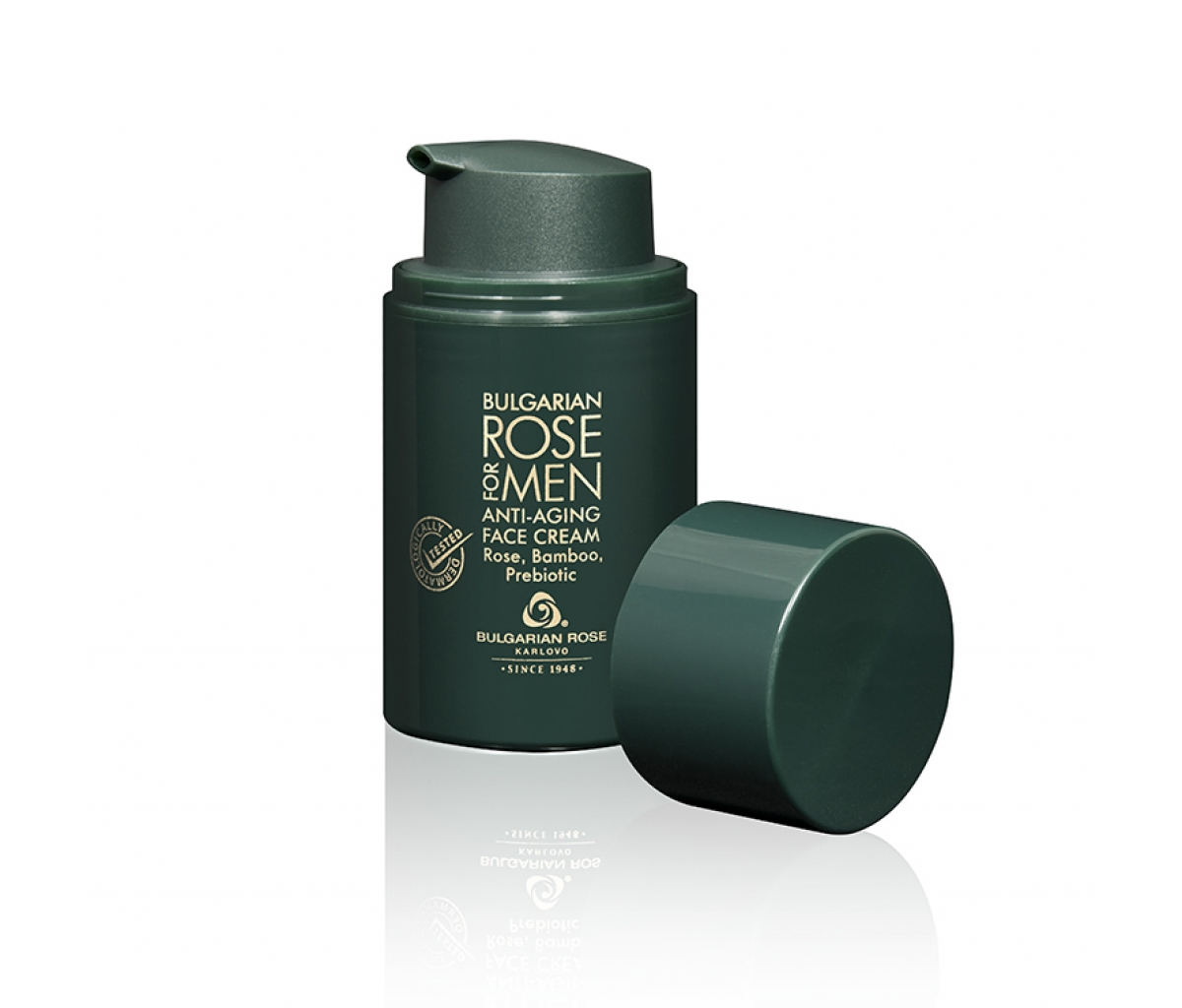 Мъжки антибръчков крем за лице Bulgarian Rose for Men