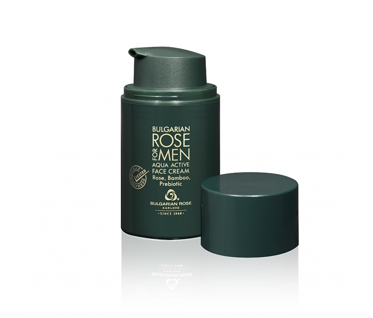 Aqua Active Face Cream Bulgarian Rose for Men