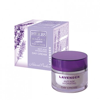 Rejuvenating day face cream with lavender Herbs of Bulgaria Biofresh