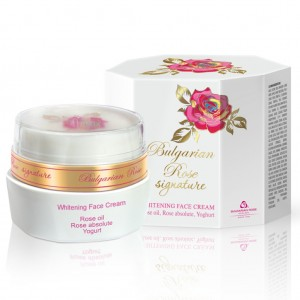 Whitening Cream for Signature with Rose Absolute Bulgarian Rose