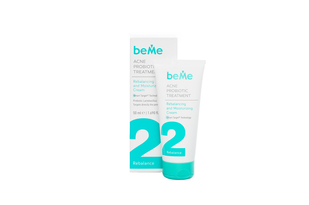 Rebalancing and Moisturizing Acne Probiotic Treatment BeMe