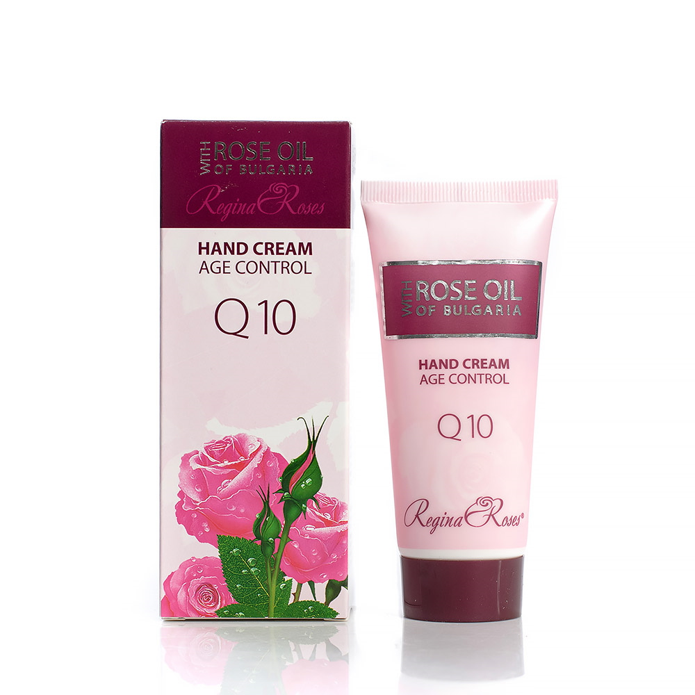 Подмладяващ крем за ръце с розово масло и коензим Q10 Regina Floris Biofresh