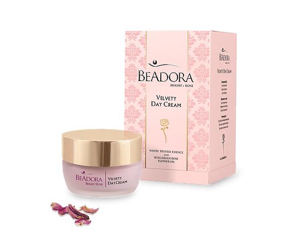 Кадифен дневен крем Bright Rose BeAdora