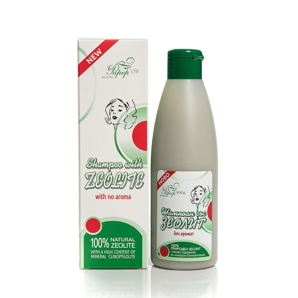Hair shampoo with Zeolite Farer Bulgaria