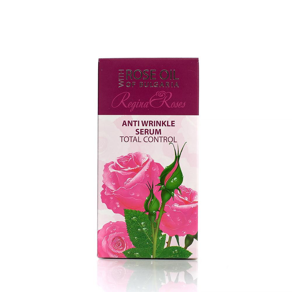 Anti-wrinkle Total Control face serum with rose oil Regina Floris Biofresh