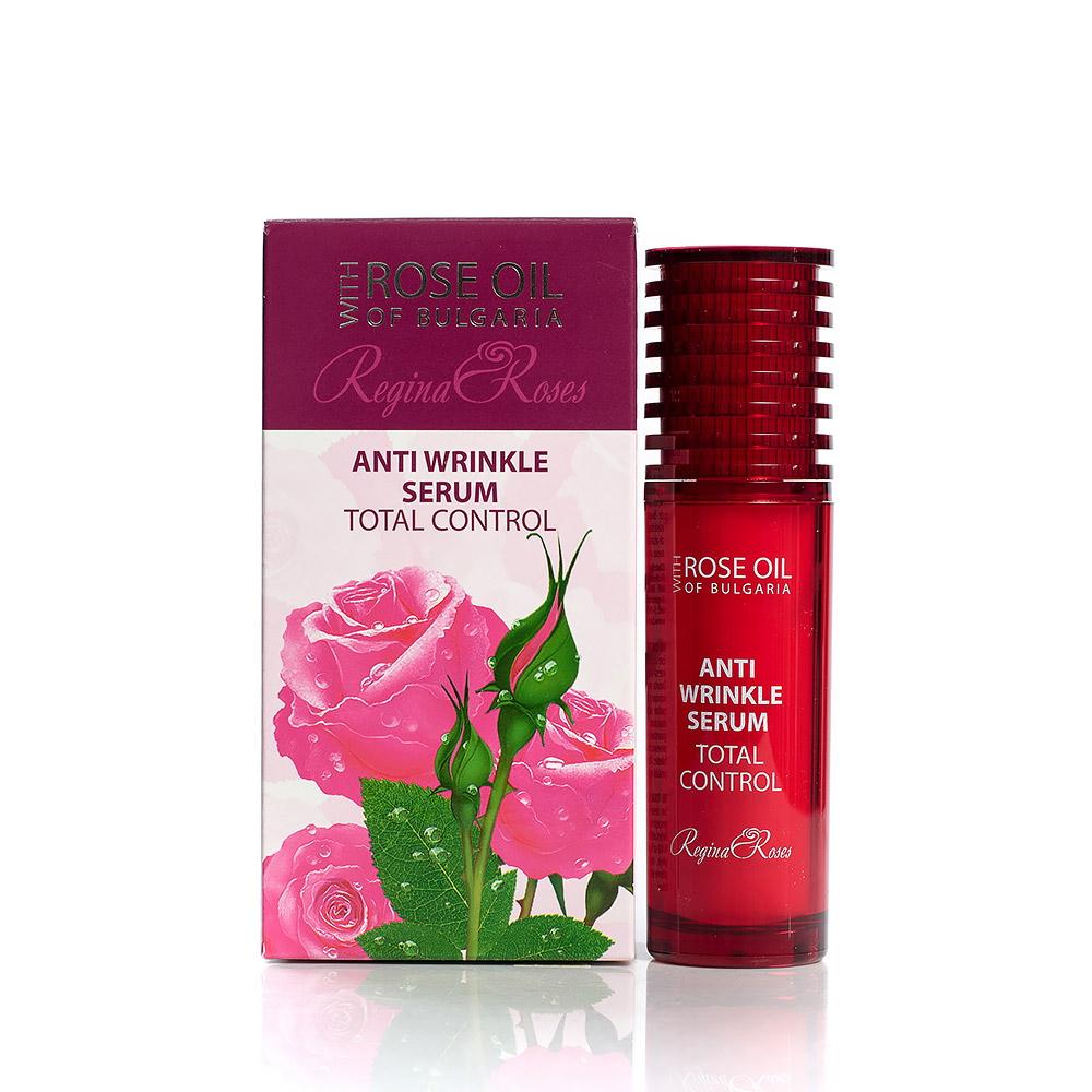 Подмладяващ серум за лице Total Control с розово масло Regina Floris Biofresh