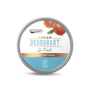 100% natural cream deodorant Go Fresh Wooden Spoon