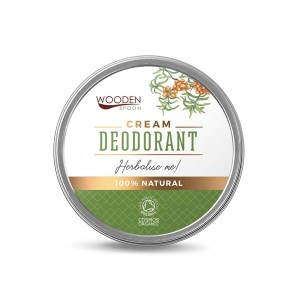 100% natural cream deodorant Herbalise Me!  Wooden Spoon