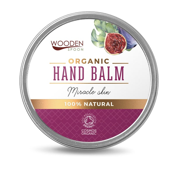 Organic hand balm Miracle Skin Wooden Spoon