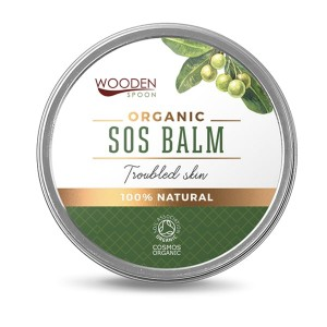 Organic SOS balm Troubled Skin Wooden Spoon