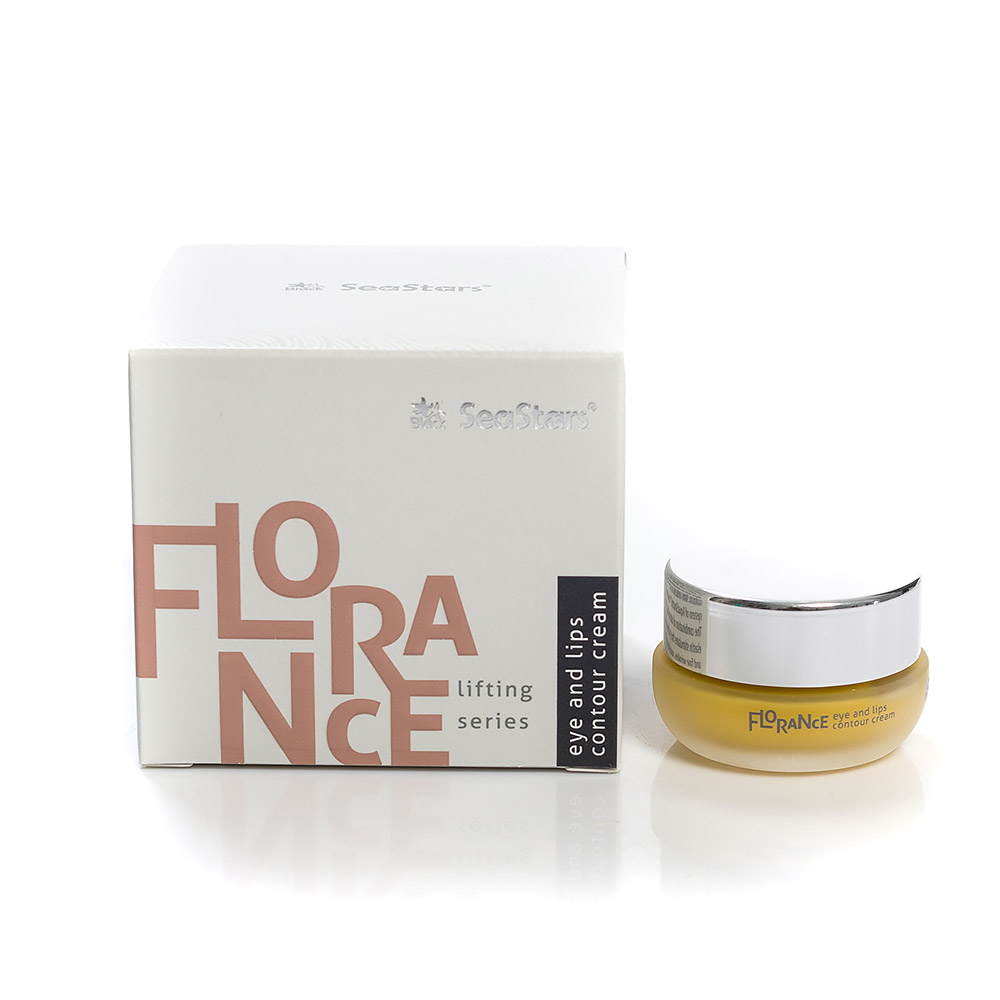 Anti-age lifting lip and eye contour cream Florance Black Sea Stars