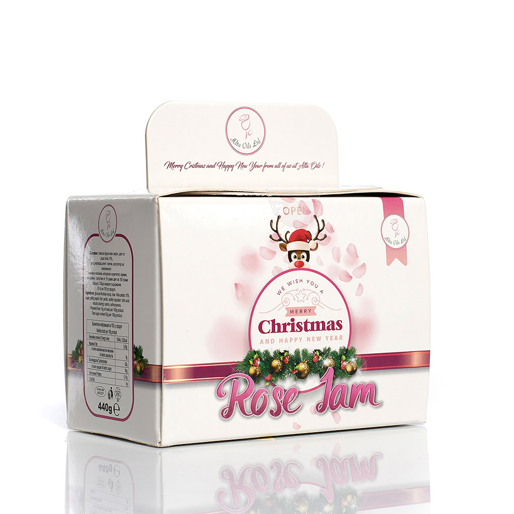 Traditional rose jam in a set of 2 pcs. Alta Oils