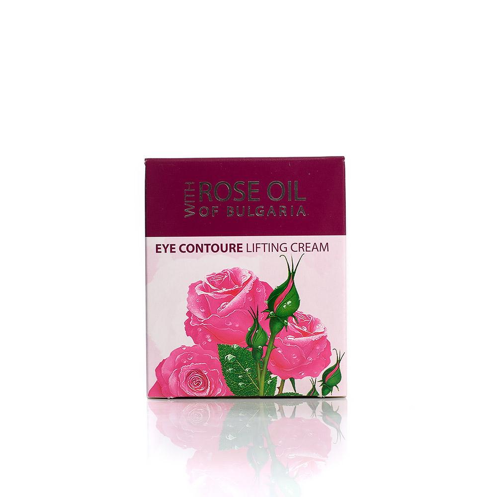 Eye contour lifting cream with rose oil Regina Floris Biofresh