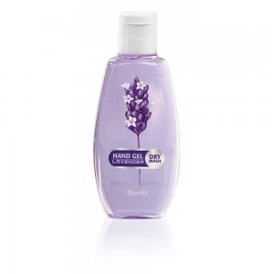 Hand hygiene gel for hands with lavender Bulgarian Rose Karlovo