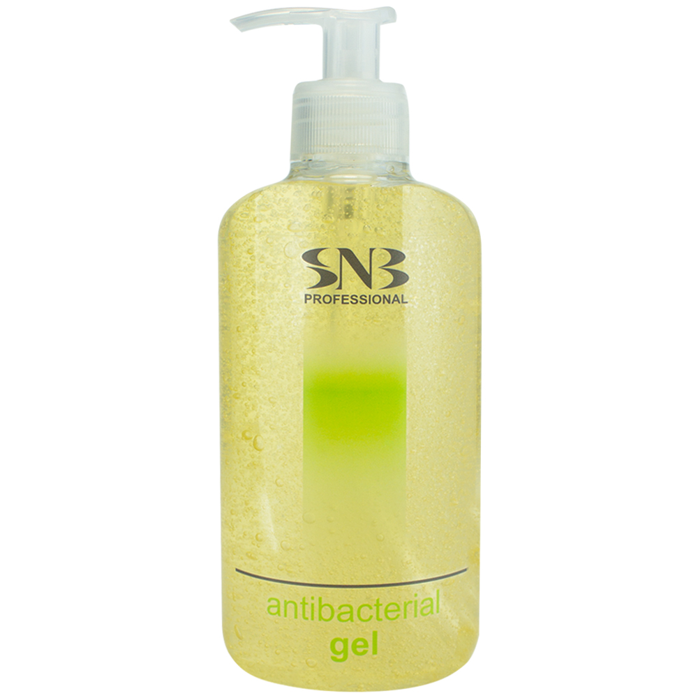 Antibacterial and disinfectant hand gel with linden SNB