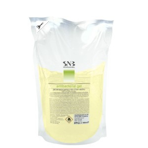 Hand sanitizing gel with linden 500 ml. disposable filler SNB