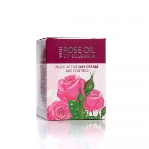 Ultra active day face cream with rose oil Regina Floris Biofresh