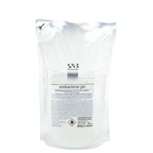 Дезинфекциращ гел за ръце с 75% етанол еднократен пълнител 500 мл. SNB