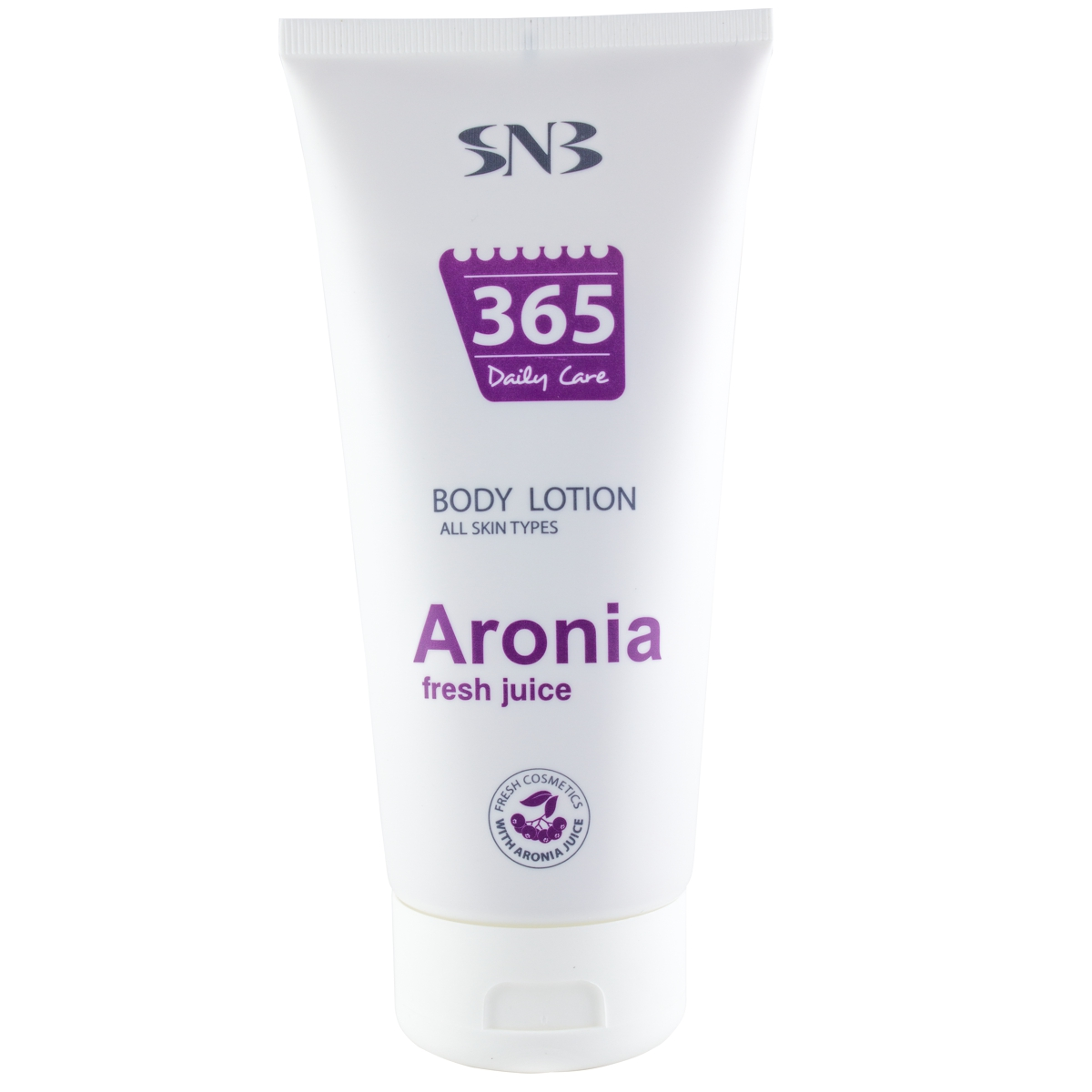 Body lotion with aronia juice SNB