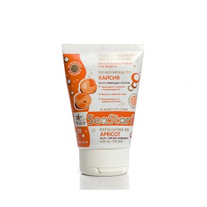 Exfoliating gel for face and body Apricot Black Sea Stars