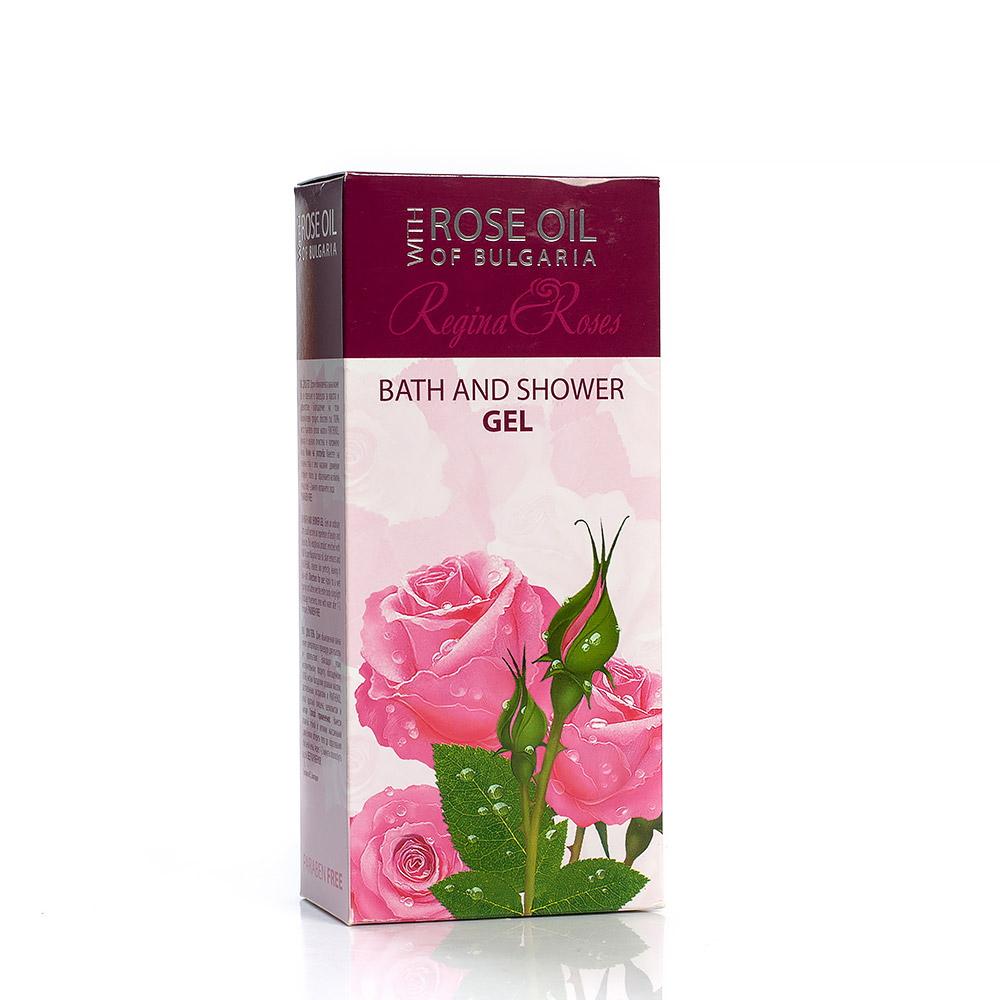 Душ гел за тяло с розово масло Regina Floris Biofresh