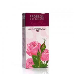 Bath and shower gel with natural rose oil Regina Floris Biofresh
