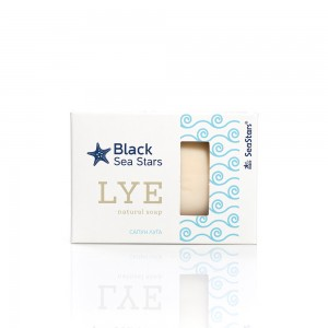 Soap with black sea lye Black Sea Stars